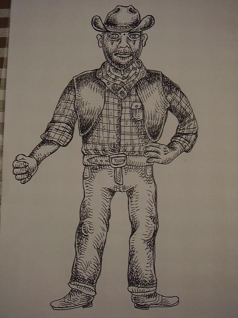 cowboy by pilla